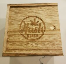 Hashstash smoking tobacco wood box kit