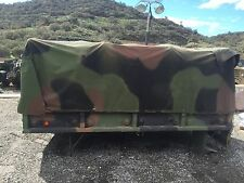 M35A2 M35A3 cargo bed with cover, and roll cage.
