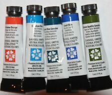5 DANIEL SMITH Extra Fine Watercolor Paints-all Series 3 -5ml