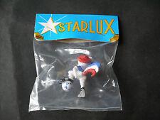NEW STARLUX  MASCOTTE JULES MONDIAL FOOTBALL 98 FRANCE NEUF SACHET NON OUVERT