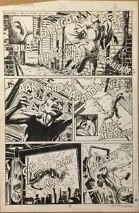 DAREDEVIL #243 Page 2 AL WILLIAMSON SIGNED ORIGINAL COMIC ART