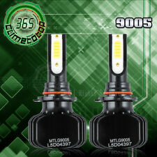 Dual Color LED 9005 HB3 Headlight Kit White/Yellow Bulbs High Beam 48000LM 480W