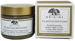 Origins Plantscription Youth Renewing Power Night Cream 1.7 Oz NIB Full Size