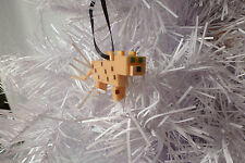 MINECRAFT INSPIRED~CUSTOM~OCELOT/CAT~CHRISTMAS TREE ORNAMENT~FIGURE~3""
