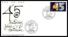 Nations Unies (45 émé anniversaire des Nations Unies) 1990 FDC - 4