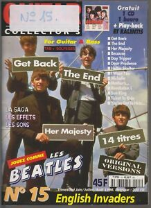 GUITAR COLLECTOR'S N°15 JOUEZ COMME LES BEATLES - ENGLISH INVADERS
