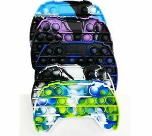 Push it PS Controller Bubble Pop Kids Toy Special Needs Sensory Fidget Autism