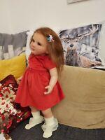 Vivien reborn doll,reborn baby girl doll,by Olga Tschenskaya 26 inc