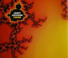JANET JACKSON : THROB ( R. KELLY MIX ) - [ RARE CD MAXI ]