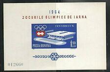 WORLDWIDE  OLYMPICS  1964  ROMANIA  SOUVENIR LIST, LOT  # 6 B