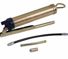 AM-TECH 200CC SIDE LEVER GREASE GUN SOLID & FLEXIBLE DELIVERY TUBE TOOL