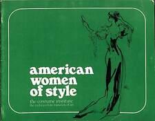 "Diana Vreeland 'American Women of Style' 7x9"" The Met's Costume Institute 1975"