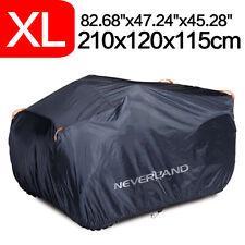 XL 190T Waterproof ATV Cover Storage Universal For Polaris Honda Kawasaki Yamaha