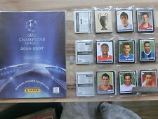 PANINI CHAMPIONS LEAGUE 2006/2007 *KOMPLETTSET COMPLETE SET*EMPTY ALBUM
