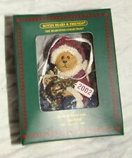 "Boyds Bears ""Kringle Jingle"" Christmas Ornament #25772 2.5"" Tall Box Coa Santa"