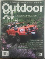Outdoor X4 Issue 4 Where the Pavement Ends Jeep CJ-7 Adventure FREE SHIPPING sb
