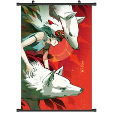 Anime Mononoke Hime Princess wall Poster Scroll 3236