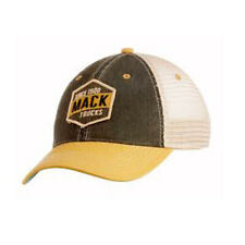 Mack Trucks Legacy Black & Yellow Retro Cap w/Vintage Word Patch Hat