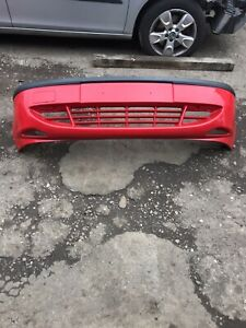 Ford Fiesta Mk5 Red Front Bumper