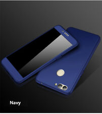 New fashion 360° Full coverage+ PC Glass Phone Case For Samsung Galaxy Cover