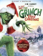 Dr Seuss How The Grinch Stole Christmas Grinchmas - Blu-ray Region 1 Shipp