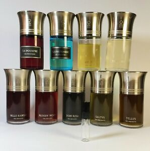 LIQUIDES IMAGINAIRES perfumes. Choose scents you want to try. 1ml, 5ml or 10ml.