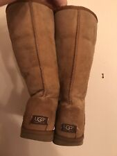 UGGS women's Camel Tall Boot Size 9