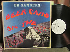 '72 ED SANDERS FUGS Beer Cans on the Moon nm lp PROMO original beatnik folk rare