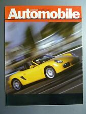 2007 Porsche Boxster Roadster Showroom Sales Brochure Rare!! Awesome L@@K