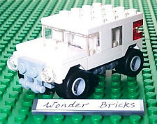 Lego Mini JEEP / HUMMER from 7602 Remake in WHITE