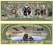 God Bless Our Veterans De Guerre Million Dollar Nouveauté Monnaie