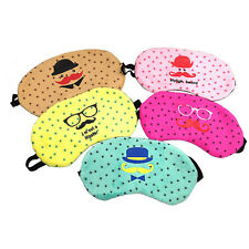 Sleep Eye mask Breathable Pure Cotton Sleeping mask Soft Cover  C7N
