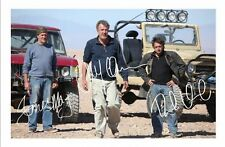 TOP GEAR - HAMMOND & MAY & CLARKSON AUTOGRAPHED SIGNED A4 PP POSTER PHOTO 1