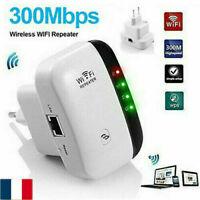 300Mbps Wireless-N Wifi Répéteur AP Routeur WLAN Réseau Amplificateur Extender