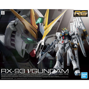 Bandai RG 1/144 RX-93 Nu Gundam Plastic Model (Gundam Model Kits)
