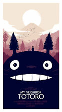 MY NEIGHBOR TOTORO Olly Moss MONDO Movie Poster LTD ED 420/243