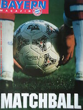 Programm 1997/98 FC Bayern München - Bayer Leverkusen