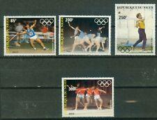 Niger 846 - 849  , ** , Olympische Spiele 1984