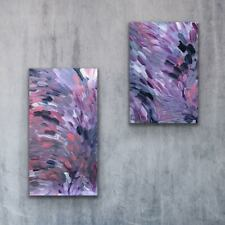 Louise Numina, Bush Medicine Leaves Aboriginal Art 90x60cm w/ COA