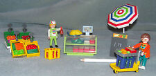 Playmobil Grocery Shop/Deli 3202 Grocery store with chiller cabinet Complete