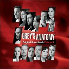 Grey's Anatomy, Vol. 4 [Digipak] by Various Artists (CD, Sep-2011, Atlantic...
