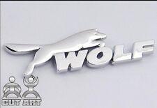 D143 Wolf auto aufkleber top 3D Emblem Badge Plakette Schriftzug car Sticker Neu