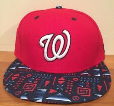 Washington Nationals MLB New Era 59Fifty Fitted Cap Hat Size 7