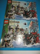 Lego 7029 Bauanleitung Instruction Skeleton Ship Attack