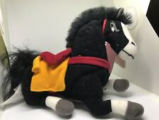 "MULAN KHAN Disney Store Edition Plush Bean Bag Horse Toy Mini 8"" Beanie"