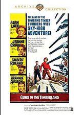 Guns of the Timberland DVD (1960) - Alan Ladd, Jeanne Crain, Gilbert Roland