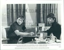 1980 Actor Gary Busey Robbie Robertson of The Band in Carny Press Photo