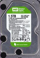"""Western Digital WD15EARS-00MVWB0 HARNNTJMH 1.5TB DEC 2010 SATA 3.5"""" HDD  A7-20"""