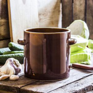 2L Fermentation Crock Pickling Jar Sauerkraut Healthy Lifestyle