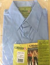 Bisley Insect Protection Business Shirt Long Sleeve VRBS6801 Size 38 Blue - New